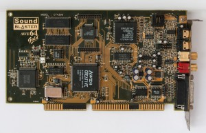 Creative SoundBlaster AWE64 Gold ISA soundcard